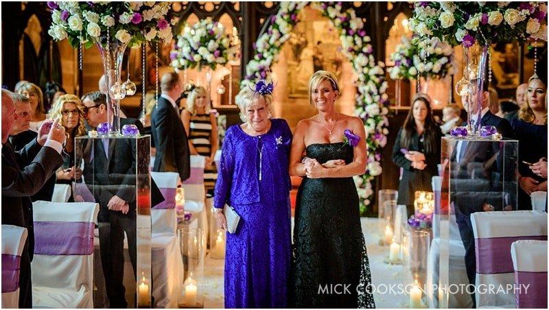 bridesmaid at peckforton castle