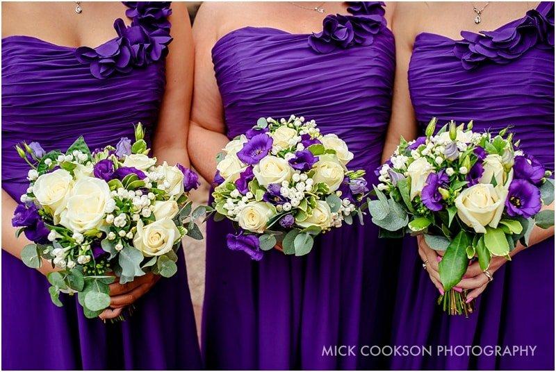 bridesmaids at peckforton castle