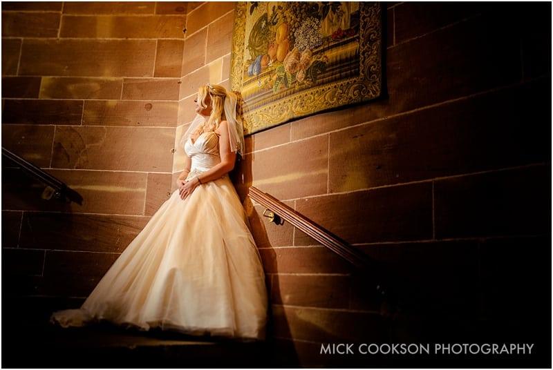 stunning bride at same sex wedding