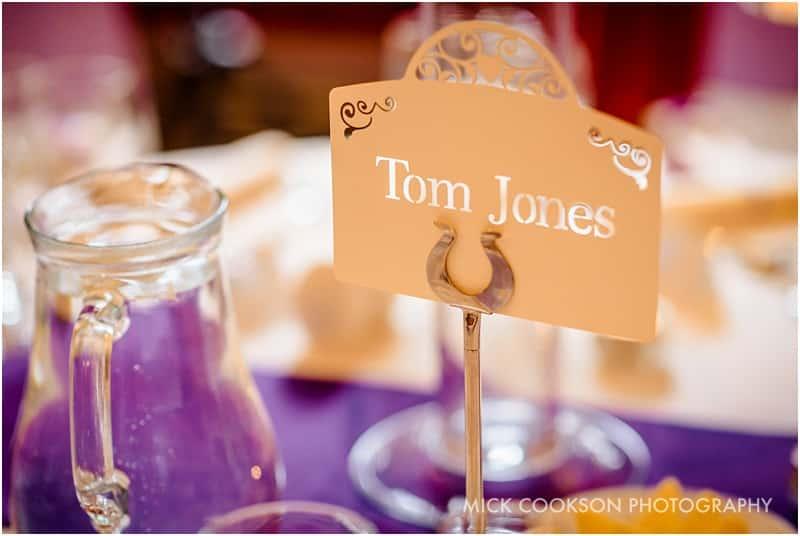tom jones table place
