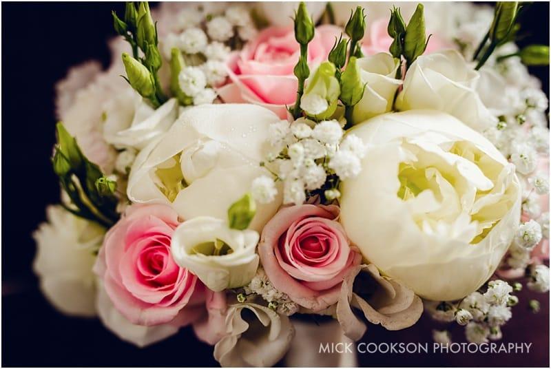 wedding flowers at shrigley hall