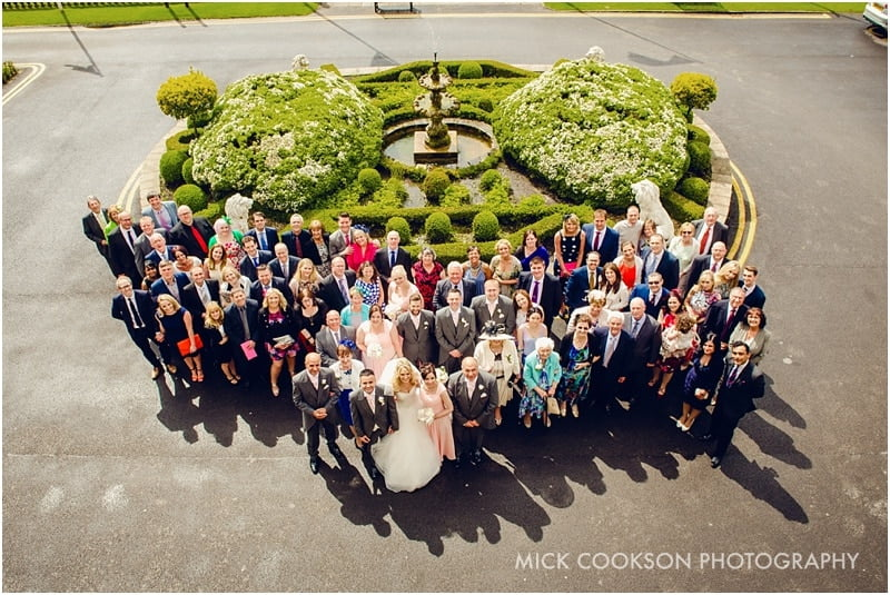 family photos at shrigley hall