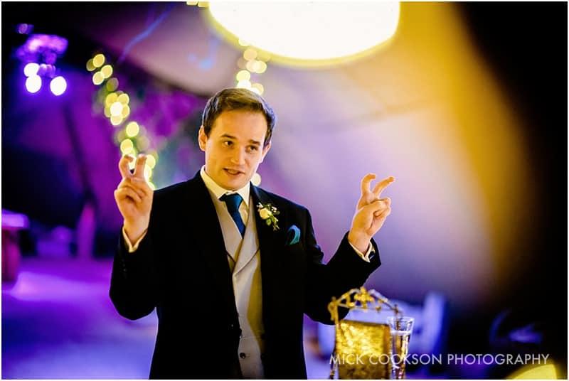 best man speech at a tipi wedding