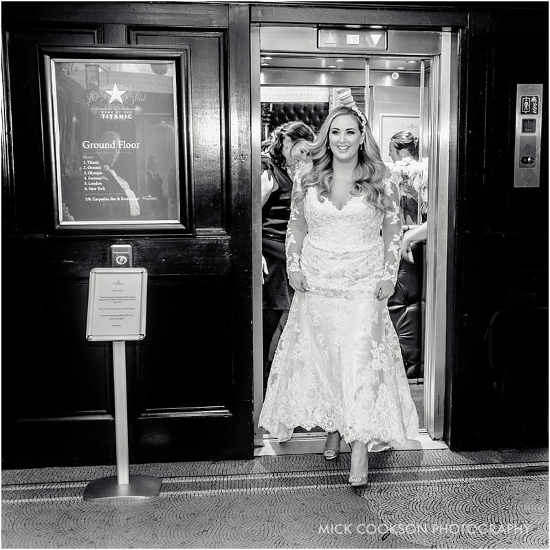 bride at 30 james street