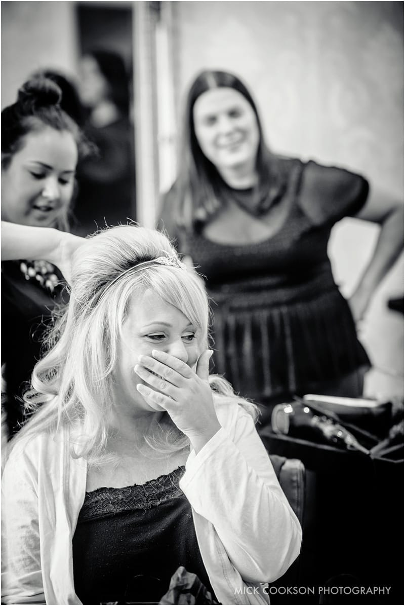 emotional bridal prep