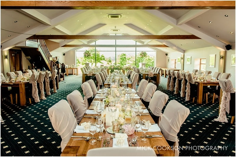 the fisherman's retreat set for a wedding
