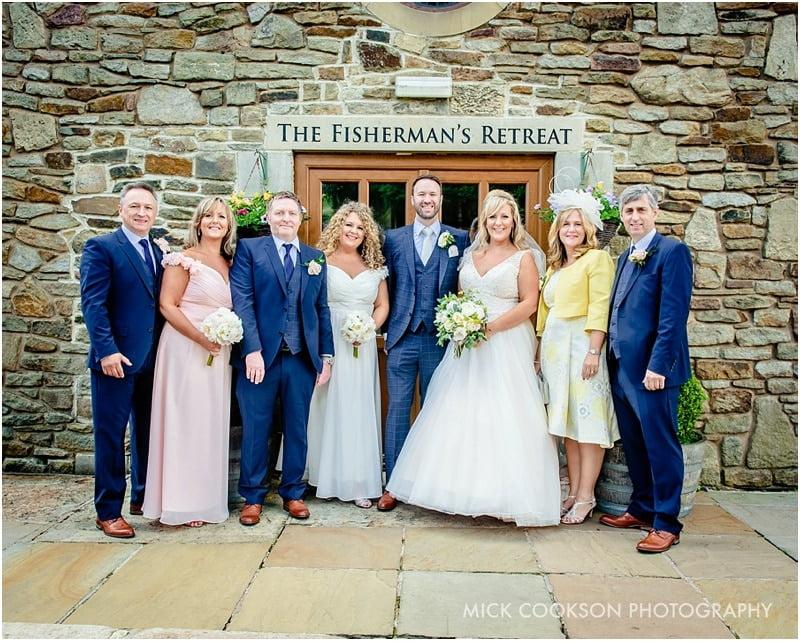family photos at the fisherman's retreat