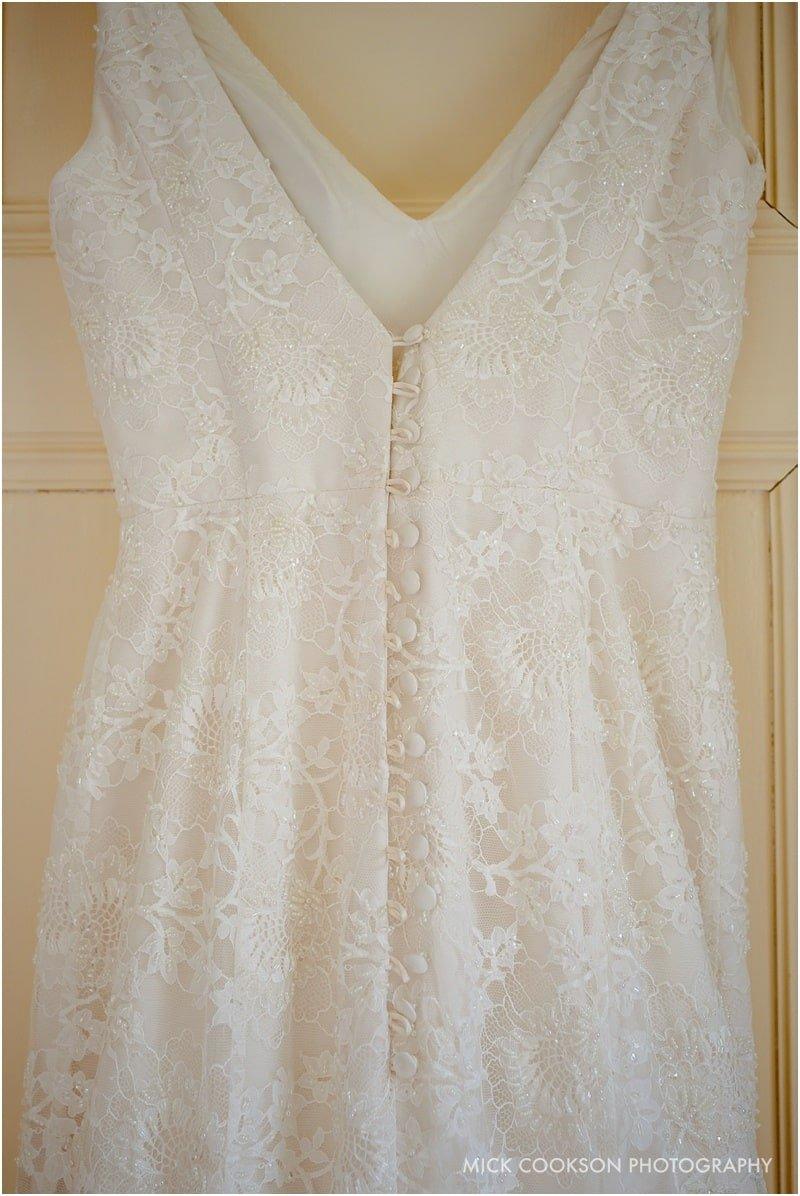 wedding dress at abbeywood estate