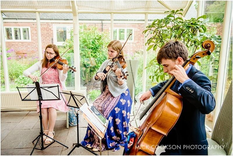string quartet at abbeywood estate gardens