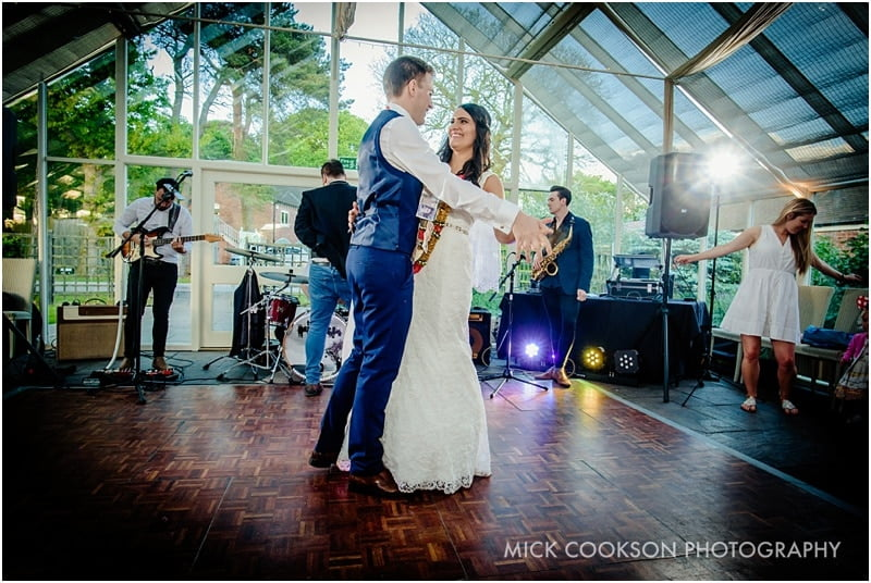 first dance in the glasshouse