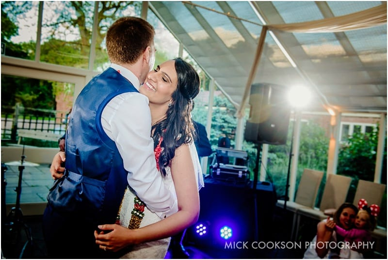first dance at abbeywood estate gardens