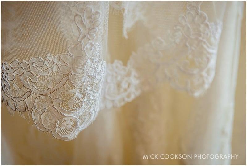 preston wedding dress material