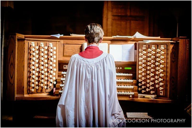 organist at st john baptist broughton