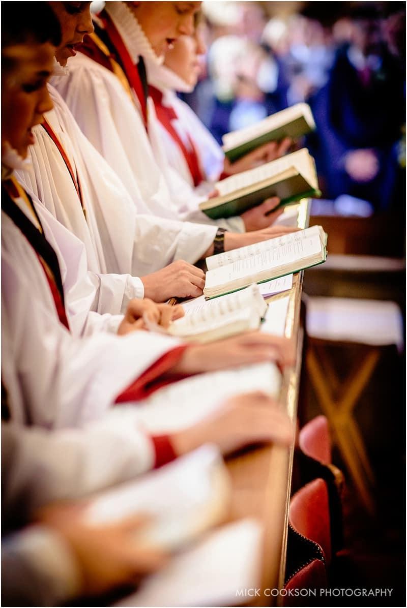 choir at st john baptist broughton