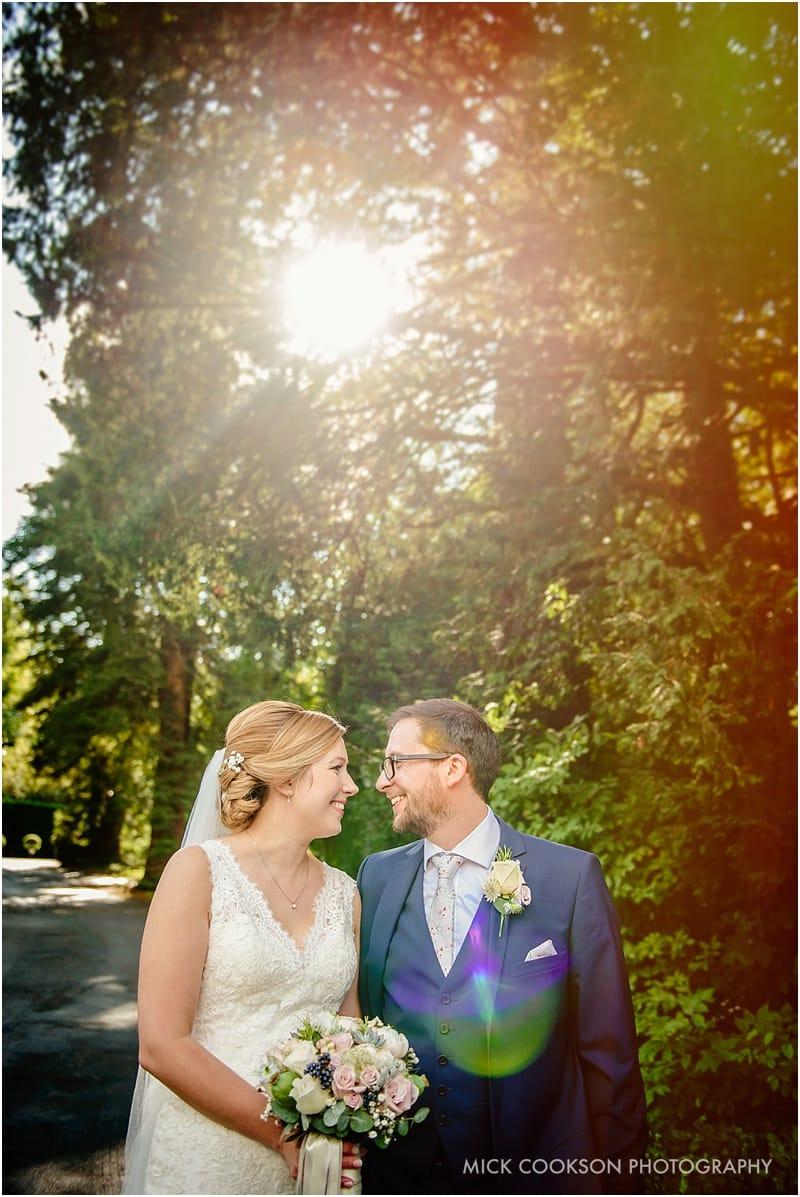 stunning bartle hall wedding photography