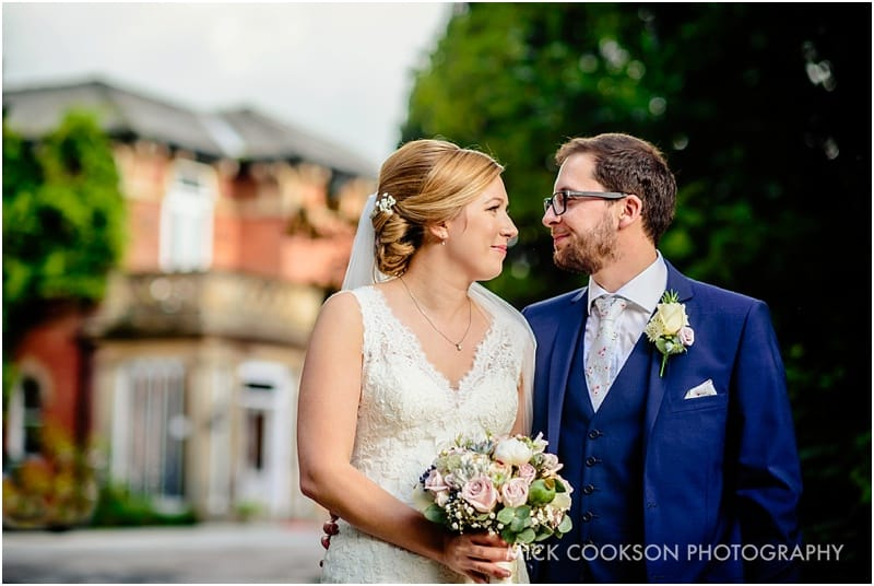 married couple outside bartle hall