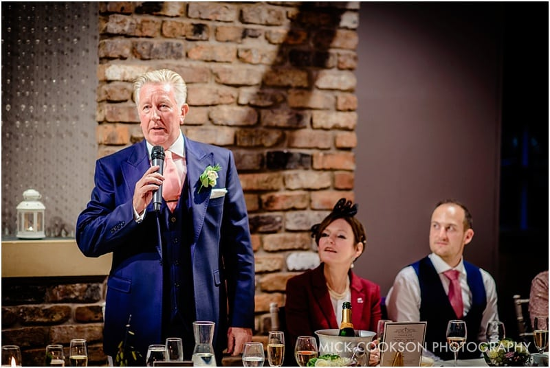 father of the bride at bartle hall
