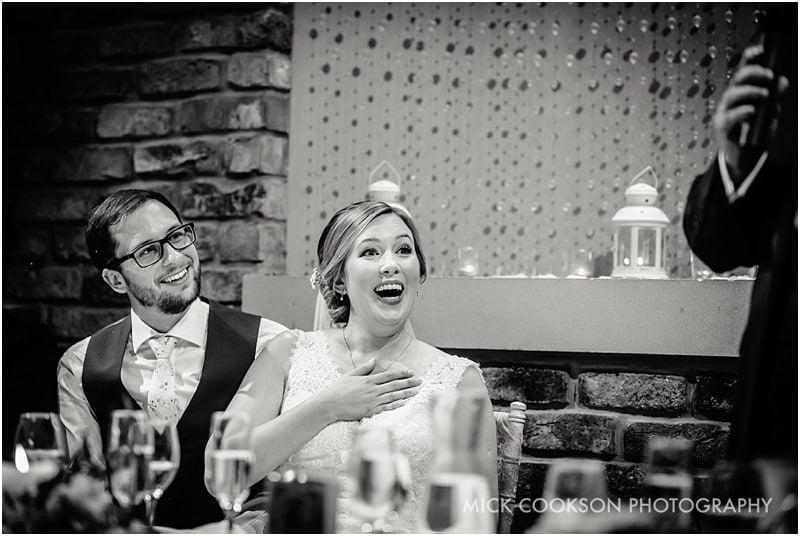 shocked bride