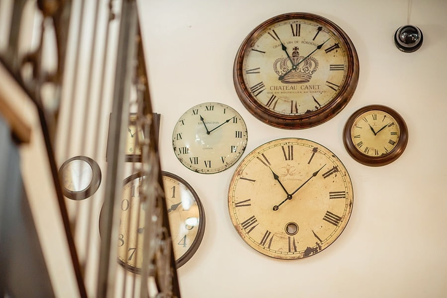 clocks at great john street hotel