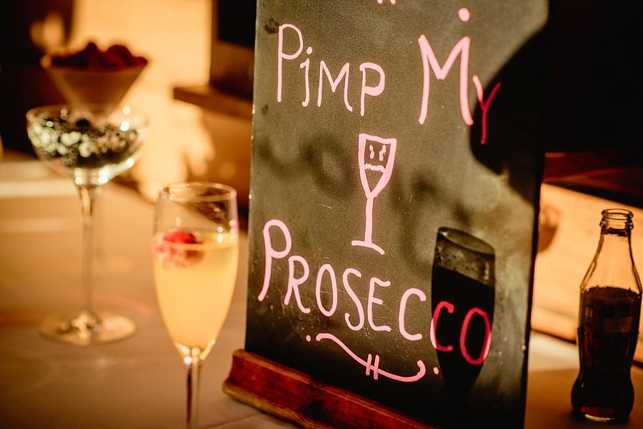 pimp my prosecco sign