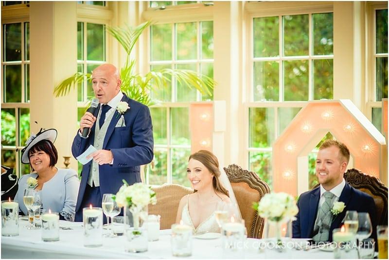 wedding speeches at mitton hall