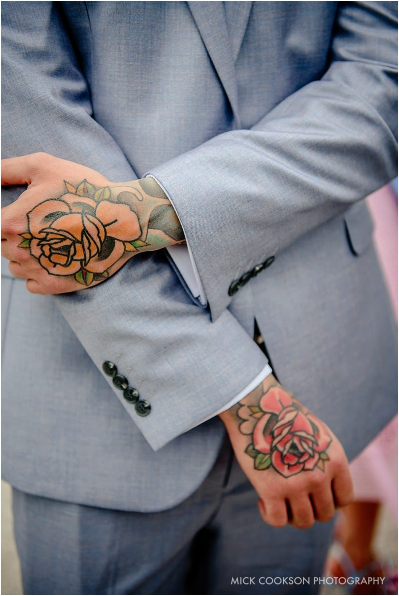 tattoo wedding guest