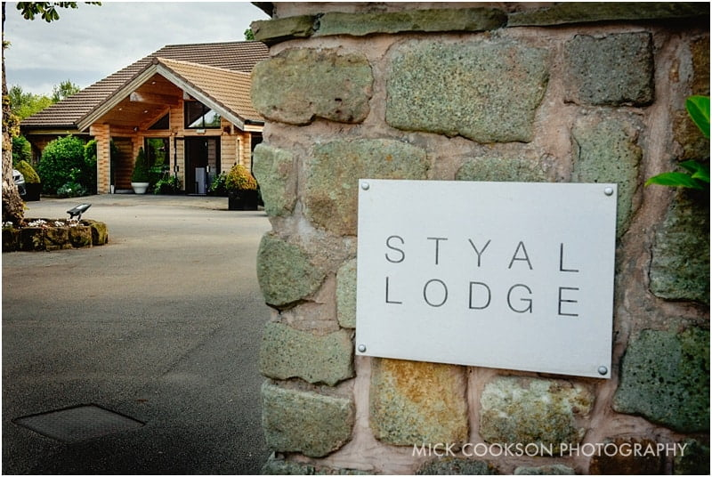 styal lodge front area