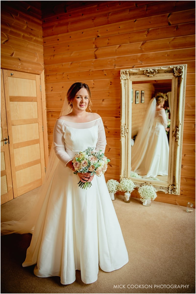 nervous bride in cheshire
