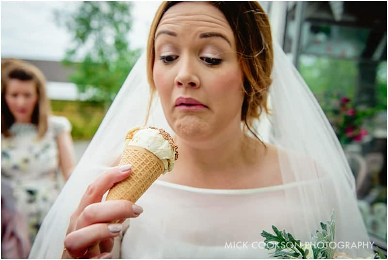bride hates ice cream