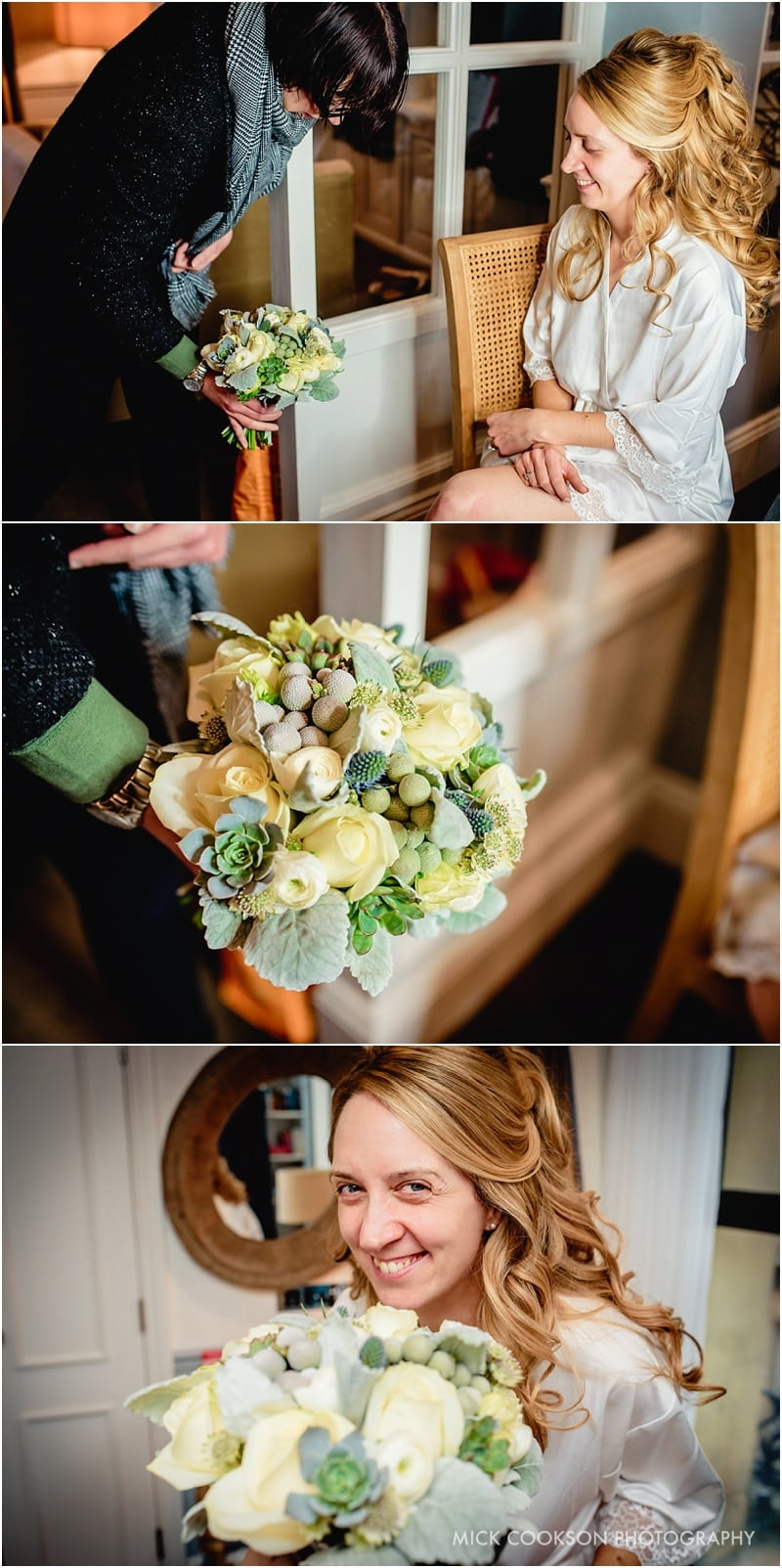 wedding flowers at king street townhouse