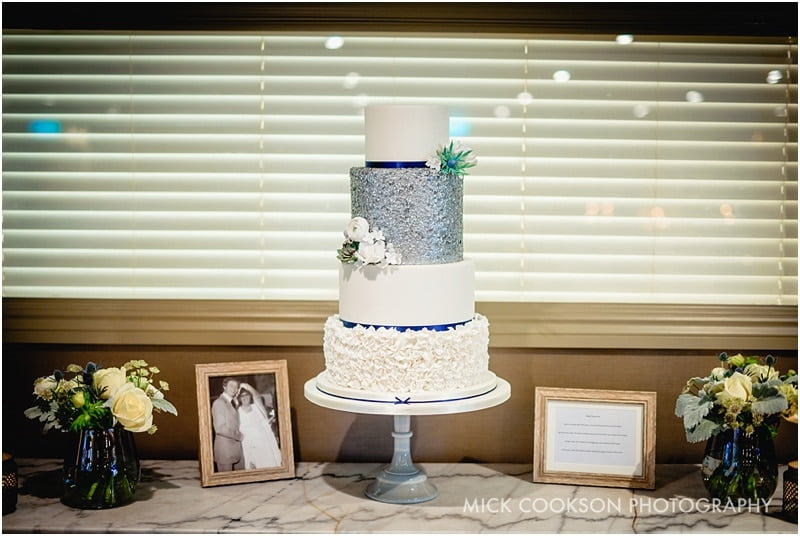 wedding cake at king street townhouse