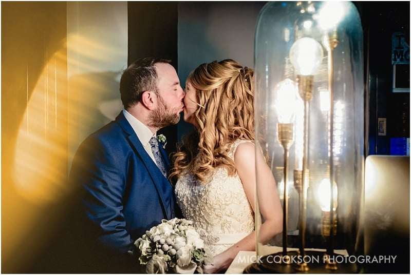 wedding photo taken at king street townhouse