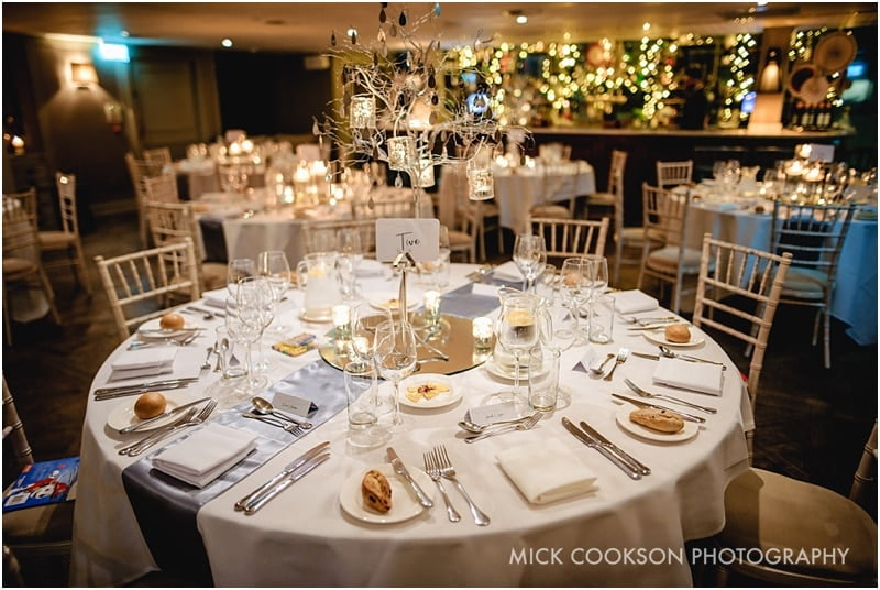 stunning king street townhouse wedding reception