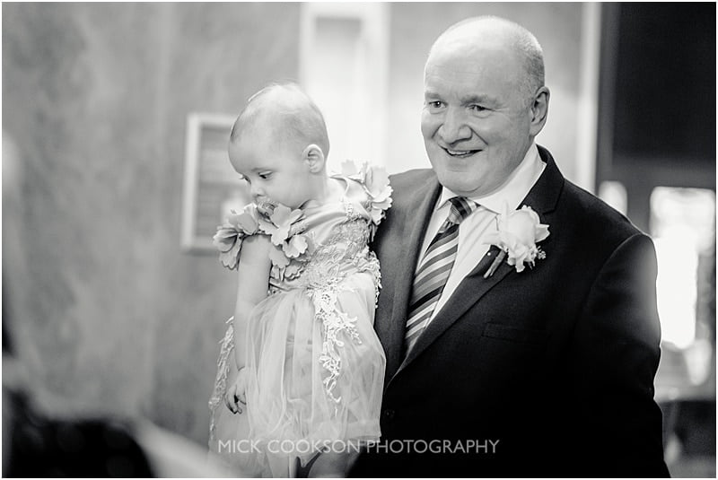 grandad at a stirk house wedding