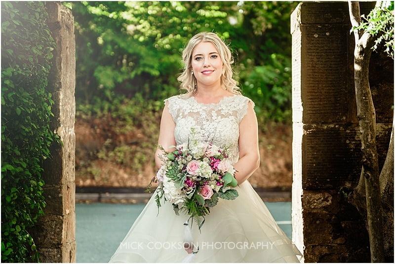 stunning bride at the shireburn arms