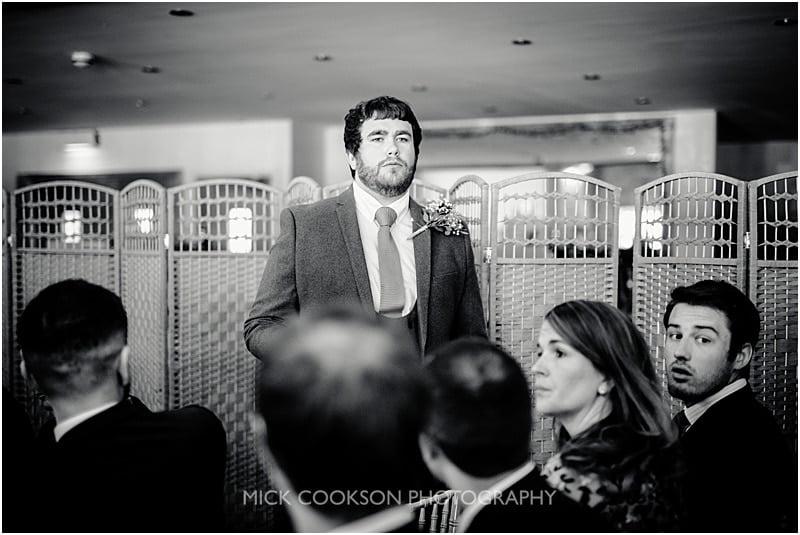 pensive groom at charnock farm