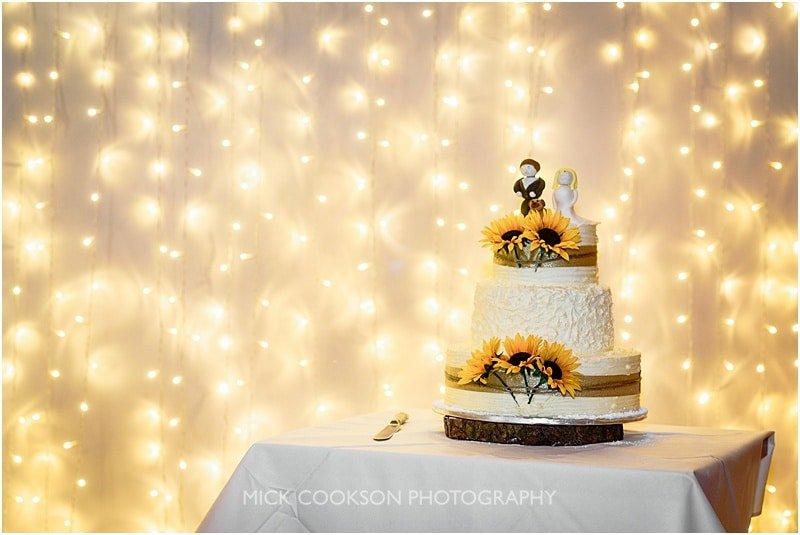 charnock farm wedding cake photographer