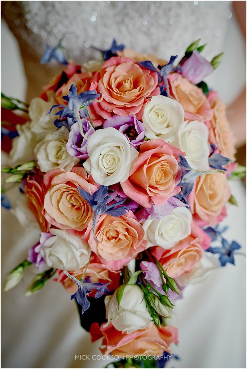 stunning wedding bouquet at colshaw hall