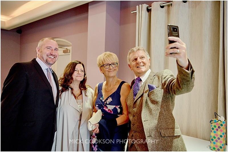 colshaw hall selfie