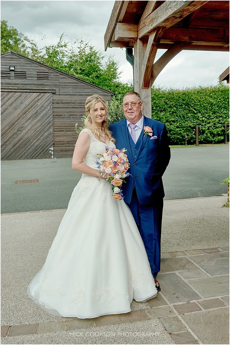 father of the bride at colshaw hall