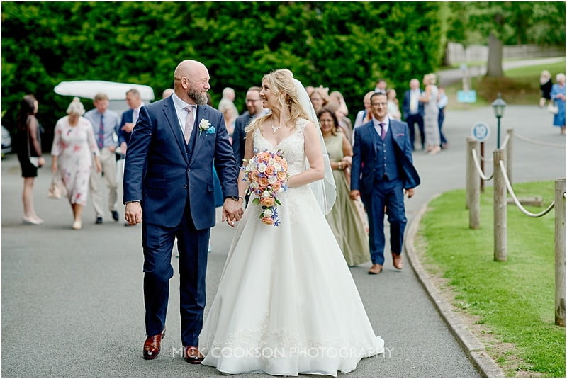 colshaw hall wedding photo