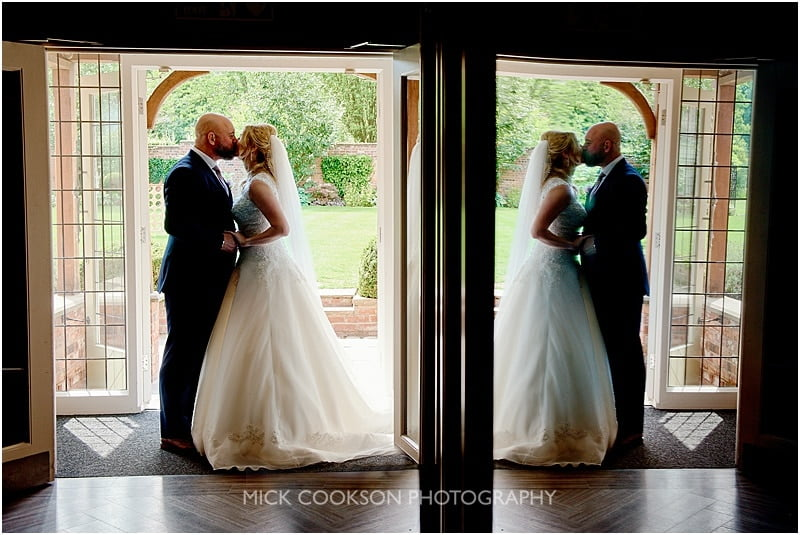 stylish colshaw hall wedding photo