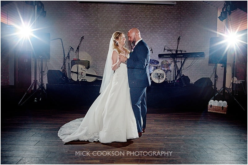 first dance a colshaw hall wedding