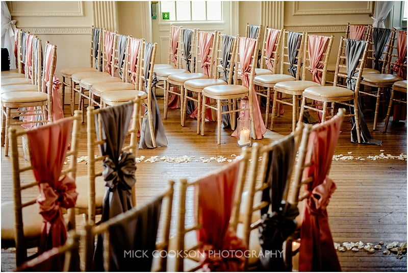wedding chair covers at eaves hall