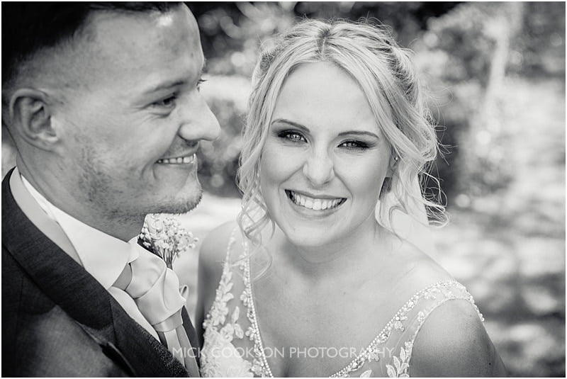 stunning bride at eaves hall