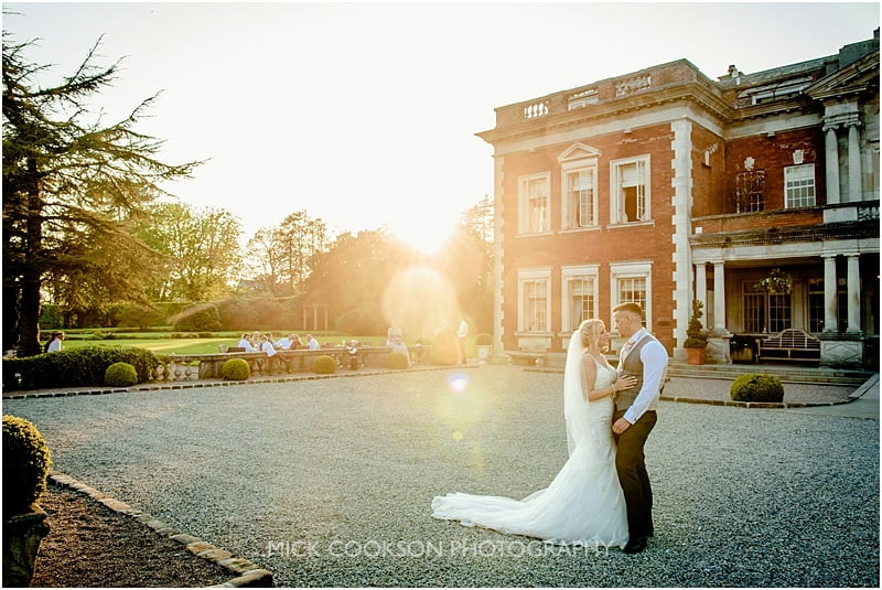 eaves hall summer wedding