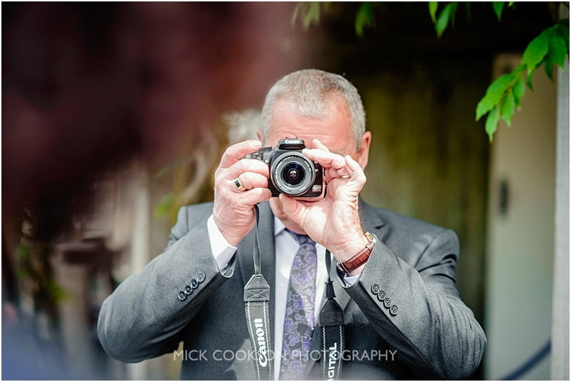 uncle bob at a mitton hall wedding