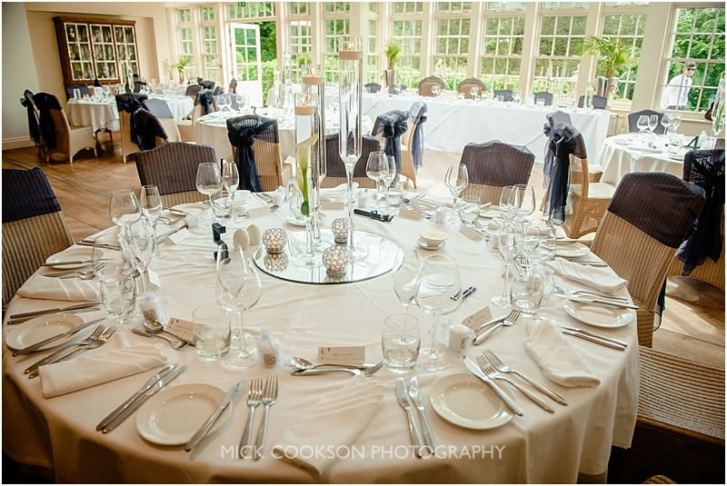 wedding reception at a mitton hall wedding