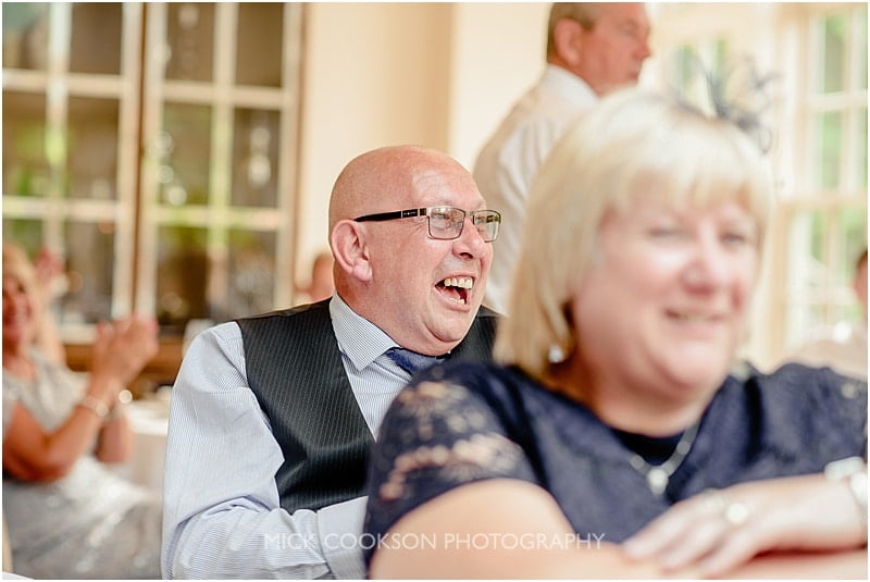 wedding guest at a mitton hall wedding