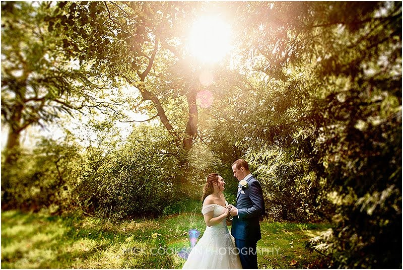oak tree of peover wedding photo